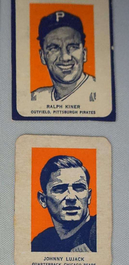 (6) 1952 WHEATIES CEREAL CARDS: - 2
