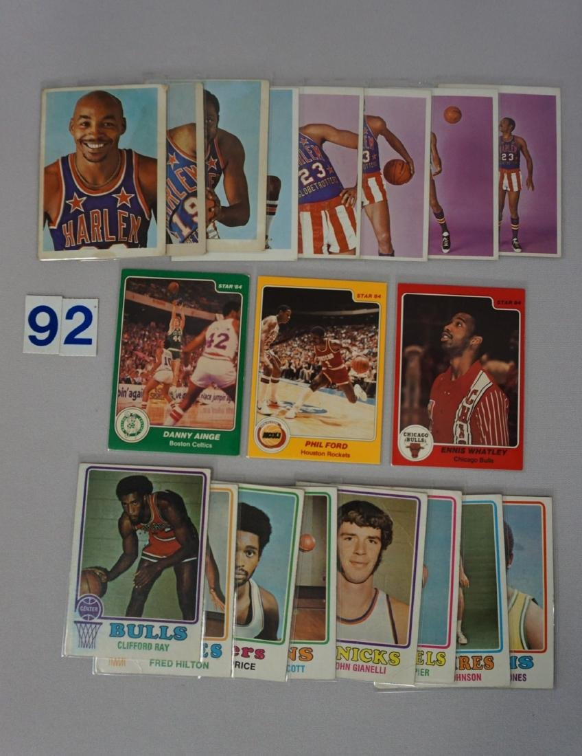 TOPPS BASKETBALL CARD LOT: - 3