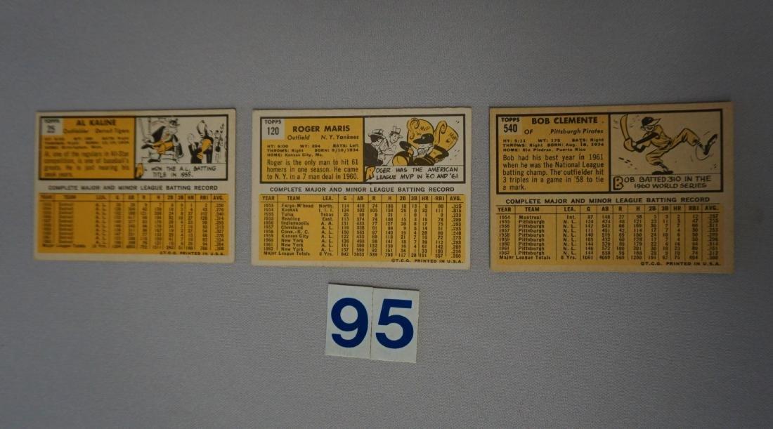 1963 TOPPS #25 AL KALINE - VG/EX, - 2