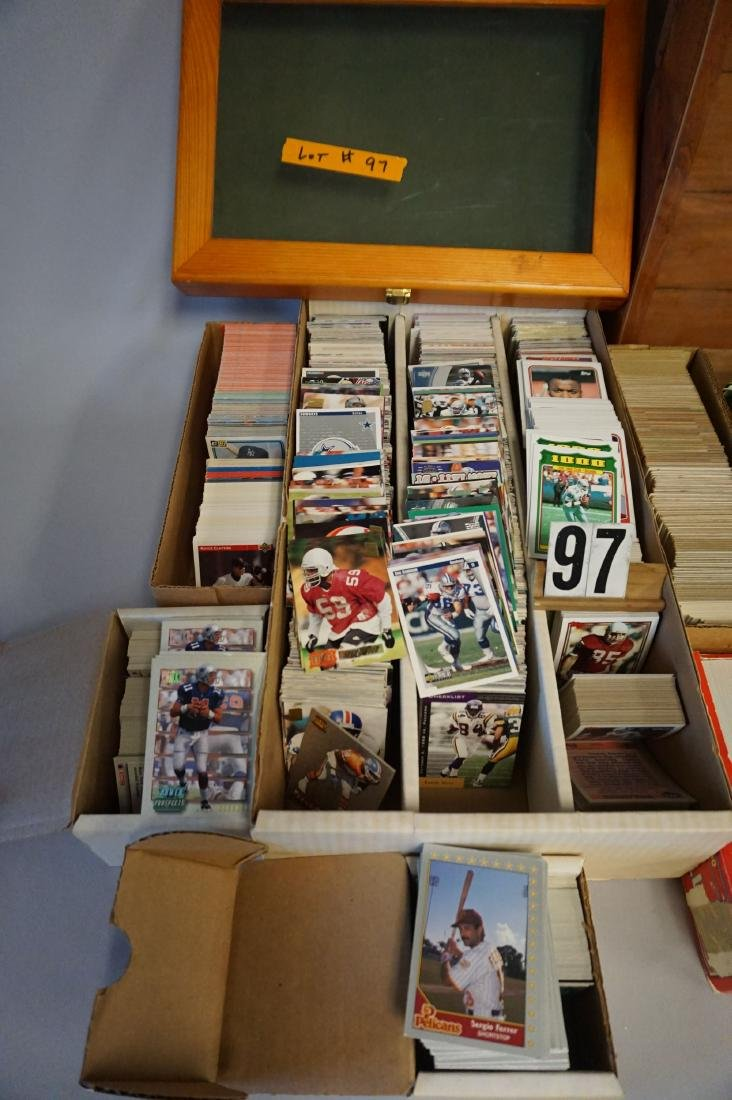 LARGE LOT: INCLUDES CARDS, SHOWCASES - - 2