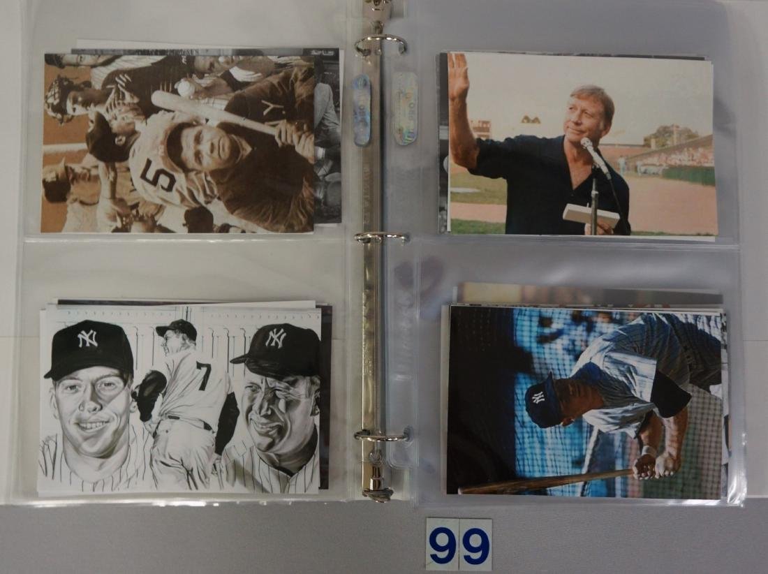 BINDER WITH (74) ASSORTED PHOTOS/POSTCARDS - 2