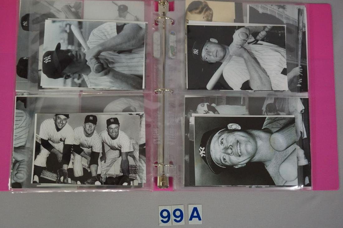 BINDER WITH (84) ASSORTED PHOTOS/ - 3