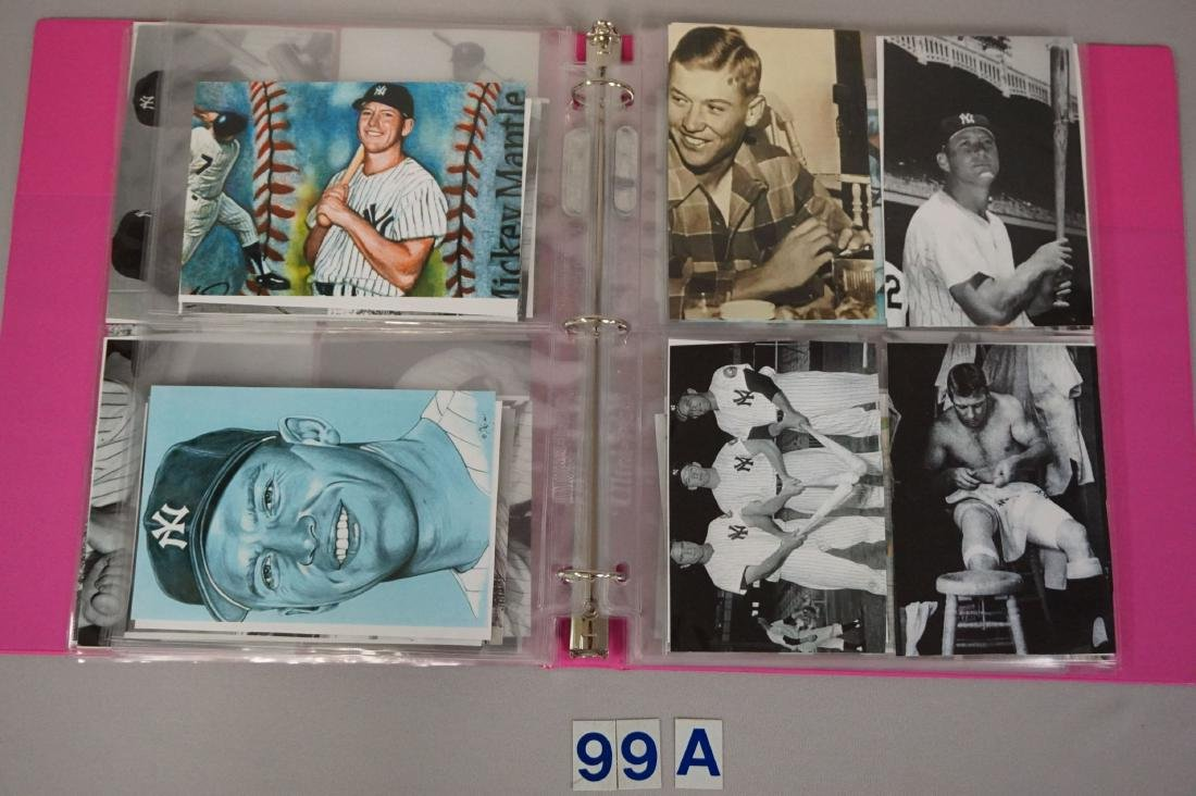 BINDER WITH (84) ASSORTED PHOTOS/ - 4