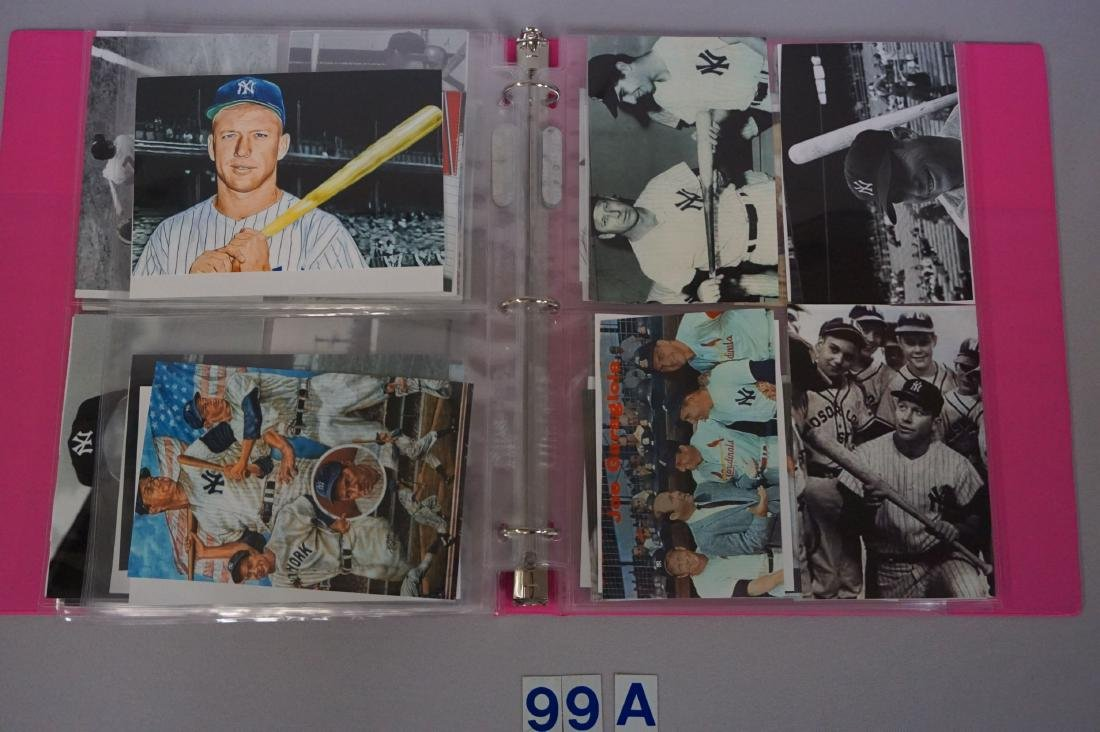 BINDER WITH (84) ASSORTED PHOTOS/ - 5