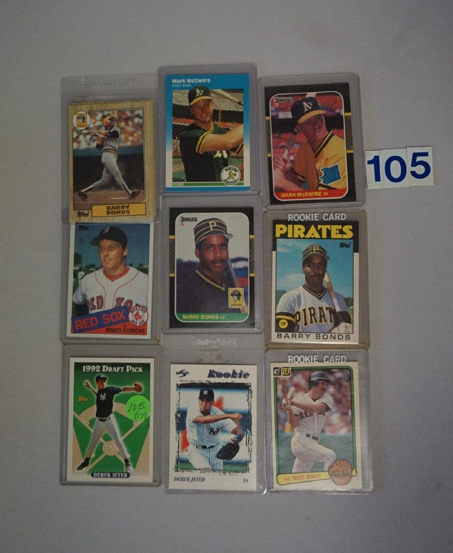 (17) BASEBALL ROOKIE CARDS: - 2
