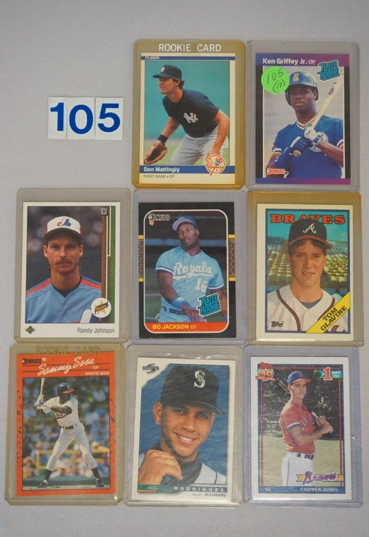 (17) BASEBALL ROOKIE CARDS: - 3
