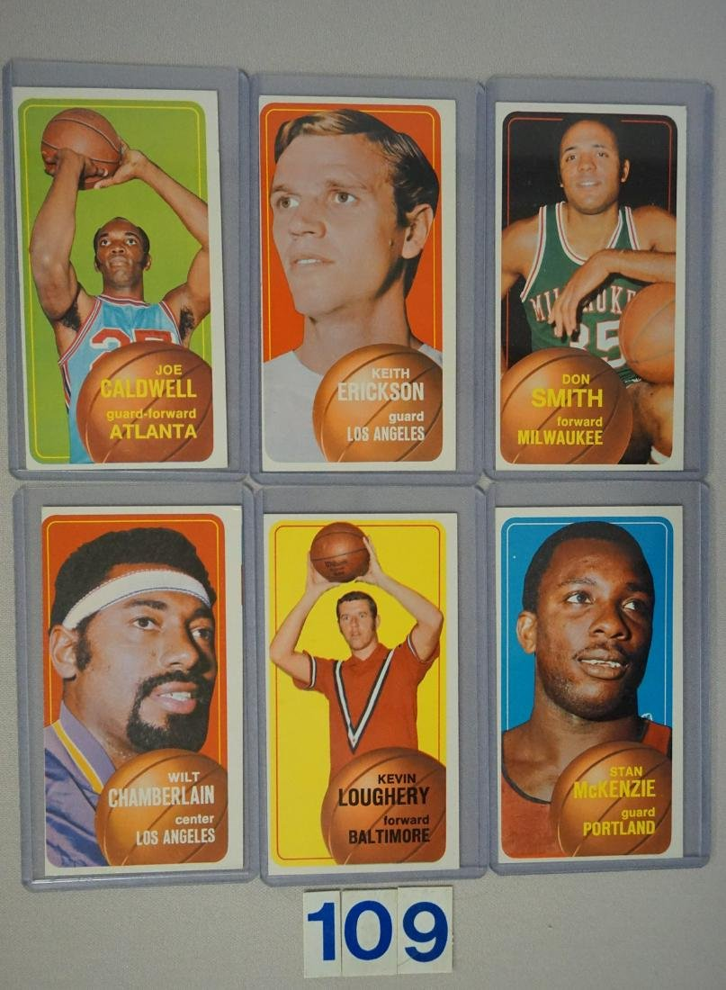 (25 DIFF.) 1970-71 TOPPS BASKETBALL CARDS - 3