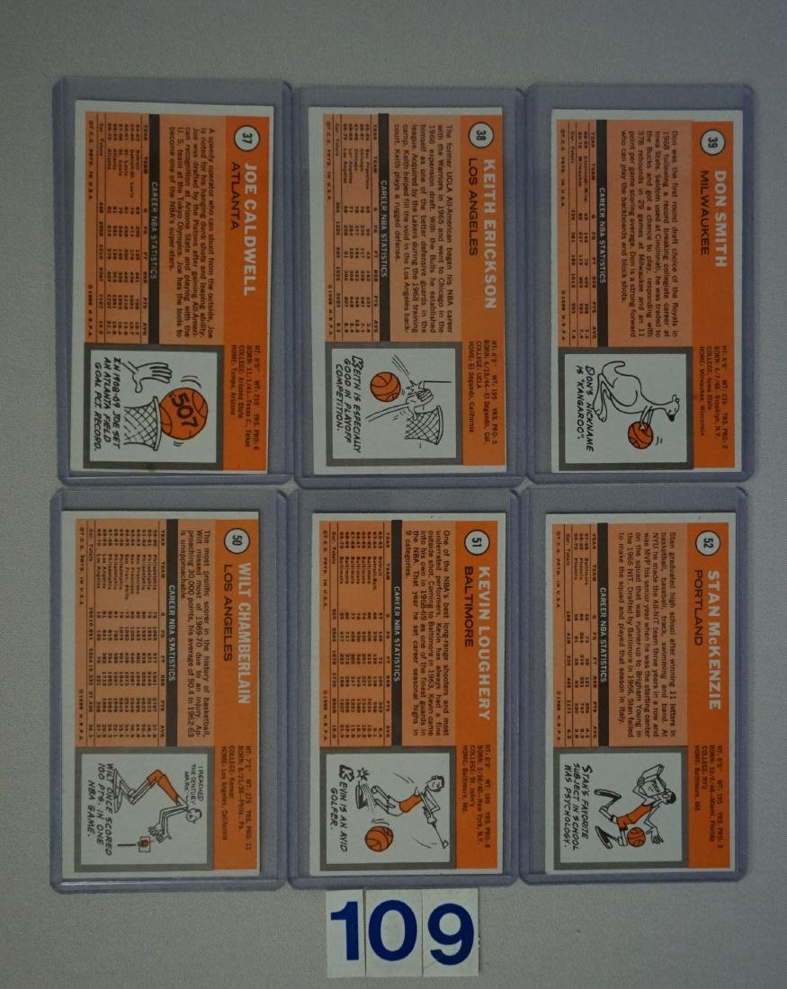 (25 DIFF.) 1970-71 TOPPS BASKETBALL CARDS - 4