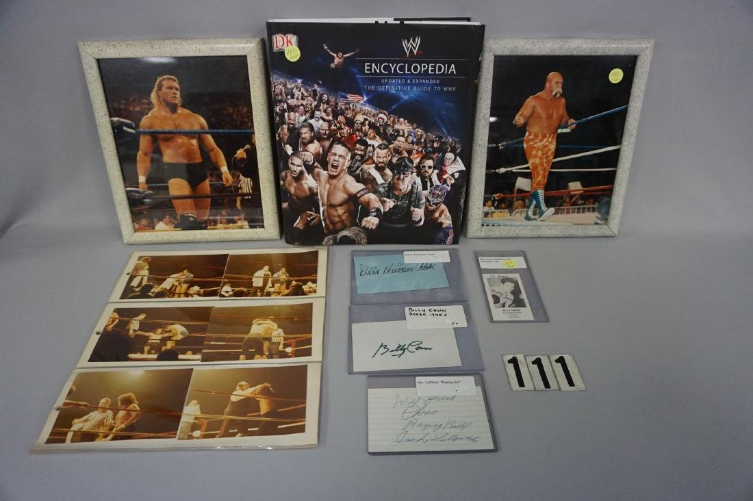 LOT OF (4) BOXING AUTOGRAPHS:
