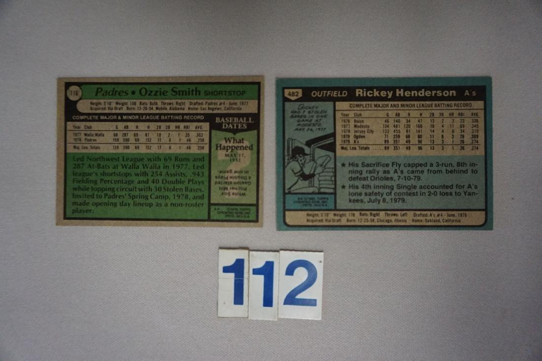 1979 TOPPS #116 OZZIE SMITH (R) - EX - 2