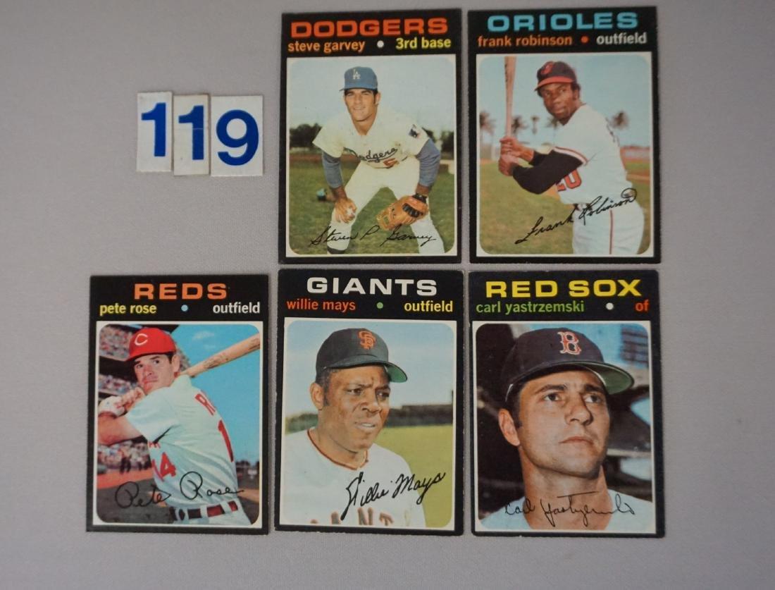 1971 TOPPS BASEBALL STARS:
