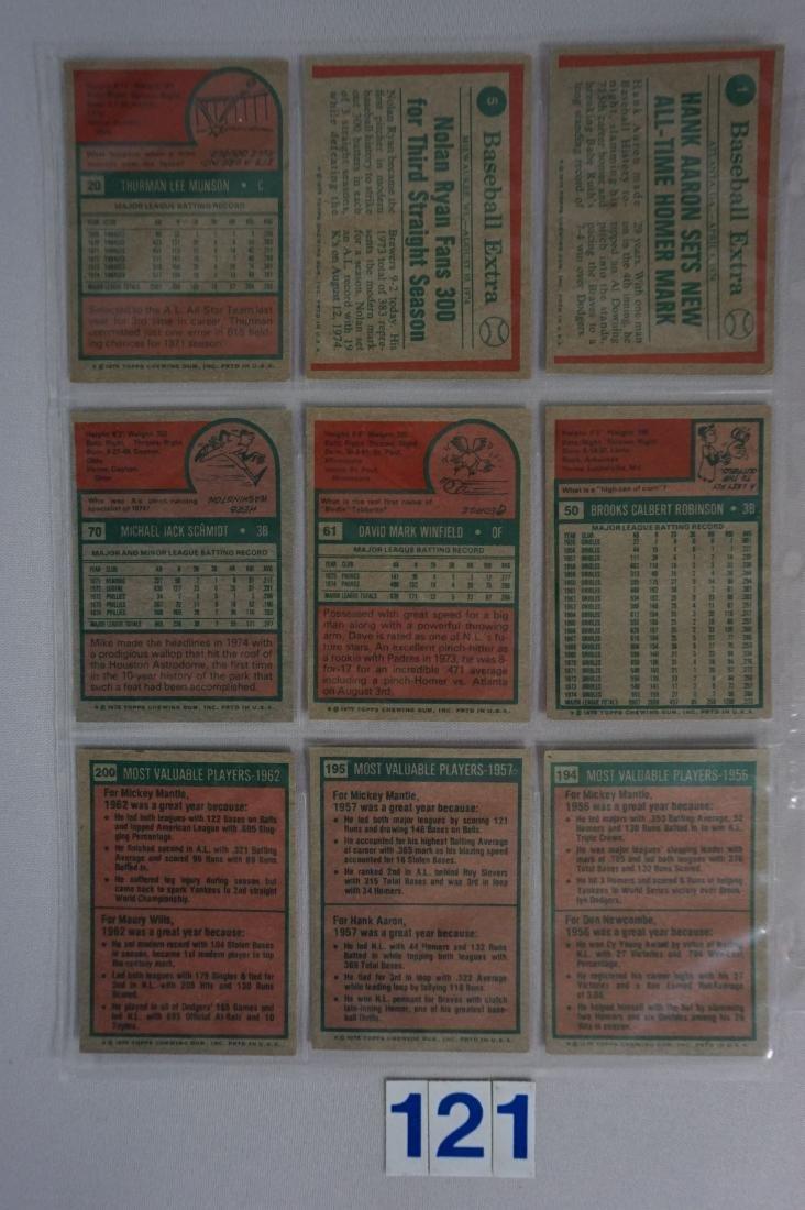 1975 TOPPS BASEBALL CARD SET - 3