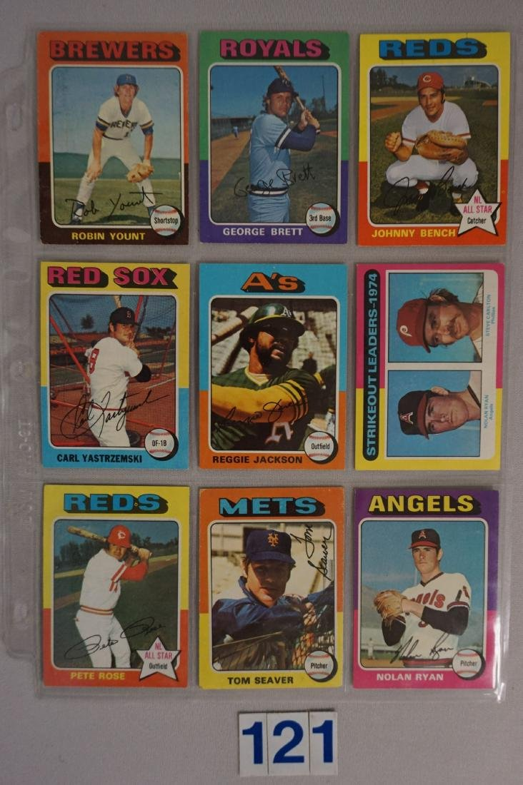 1975 TOPPS BASEBALL CARD SET - 4