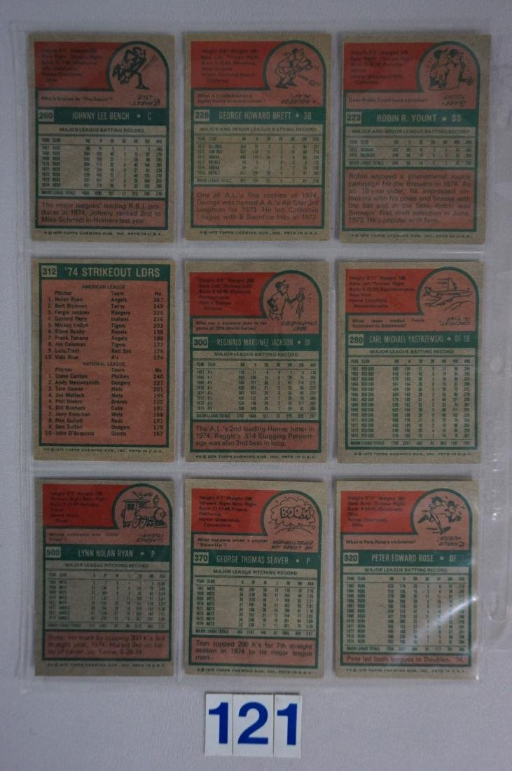 1975 TOPPS BASEBALL CARD SET - 5