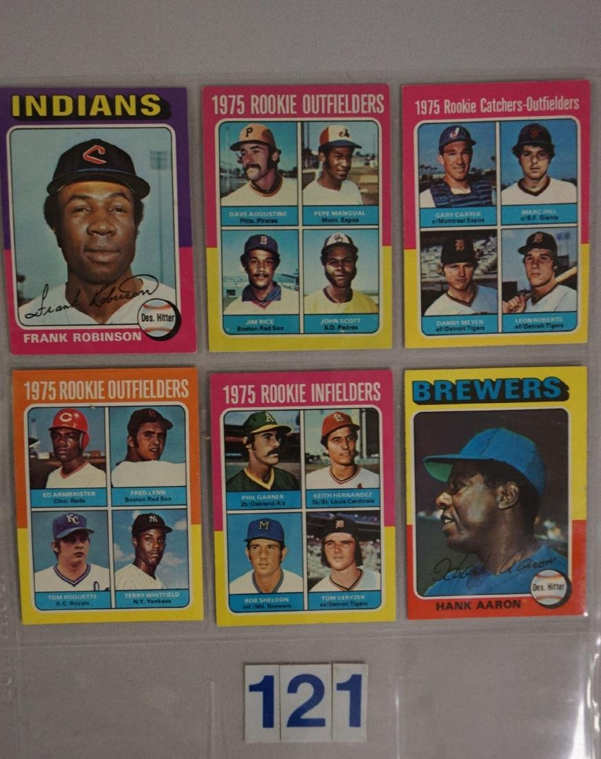 1975 TOPPS BASEBALL CARD SET - 6