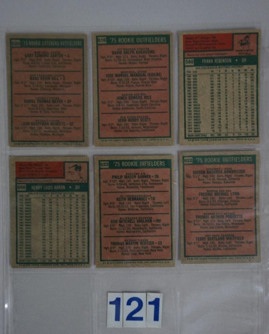 1975 TOPPS BASEBALL CARD SET - 7