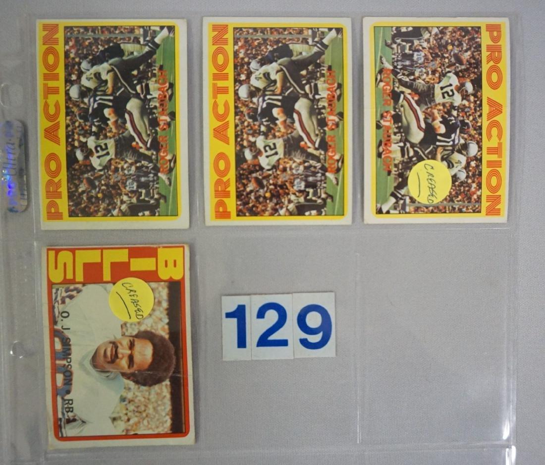 1972 TOPPS FOOTBALL ROOKIES: - 7