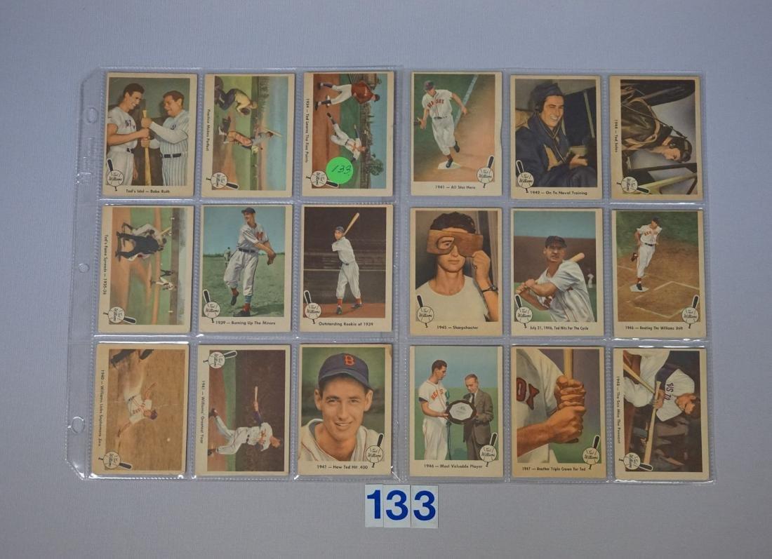 (27 DIFF.) 1959 FLEER TED WILLIAMS BASEBALL
