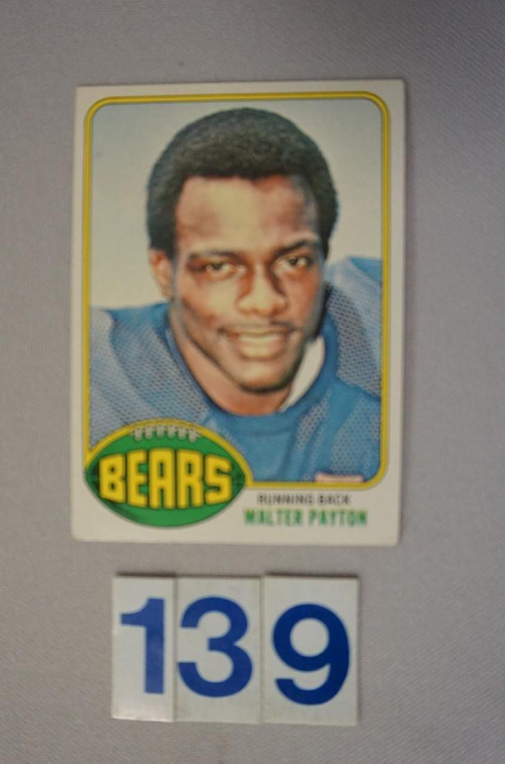 1976 TOPPS #148 WALTER PAYTON (R)