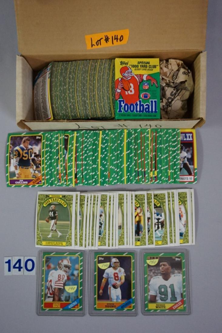 1986 TOPPS FOOTBALL CARD SET
