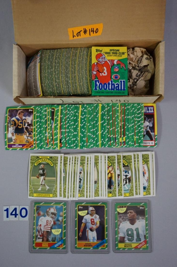 1986 TOPPS FOOTBALL CARD SET
