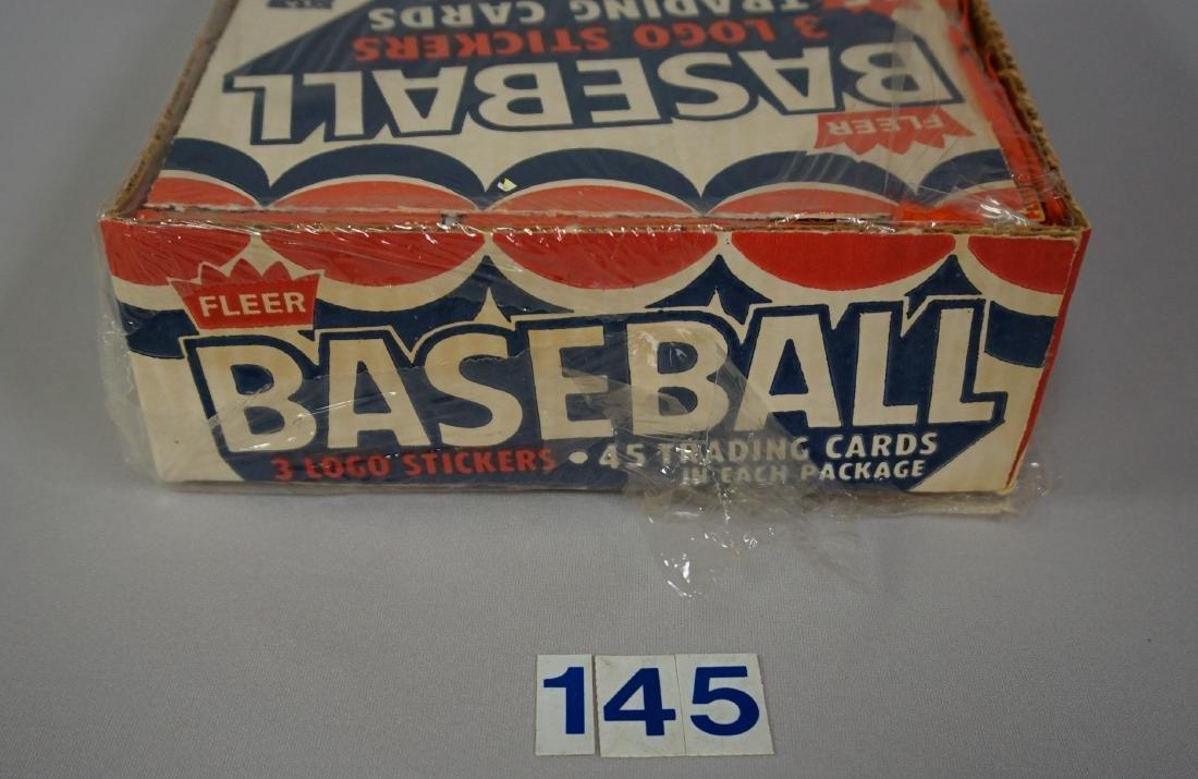 1983 FLEER BASEBALL RACK PACK BOX, - 5