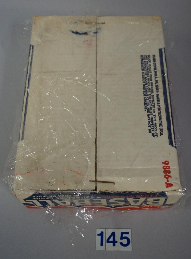 1983 FLEER BASEBALL RACK PACK BOX, - 6