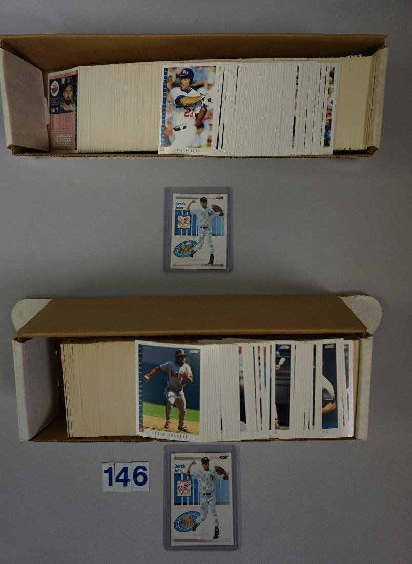 (2) 1993 SCORE BASEBALL CARD SETS