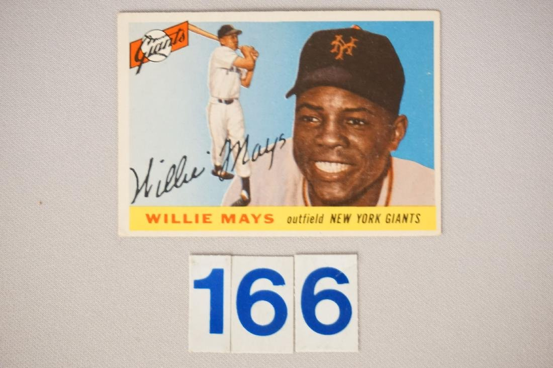 1955 TOPPS #194 WILLIE MAYS
