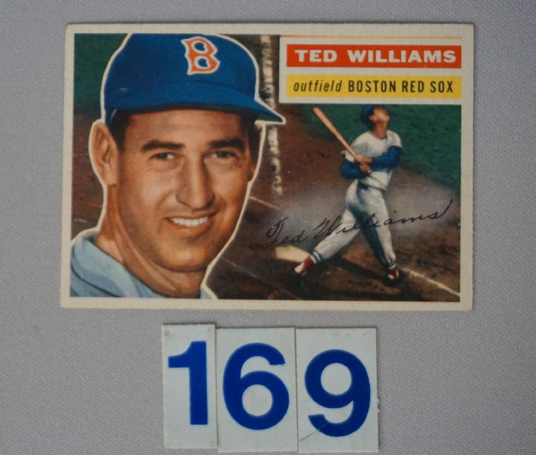 1956 TOPPS #5 TED WILLIAMS