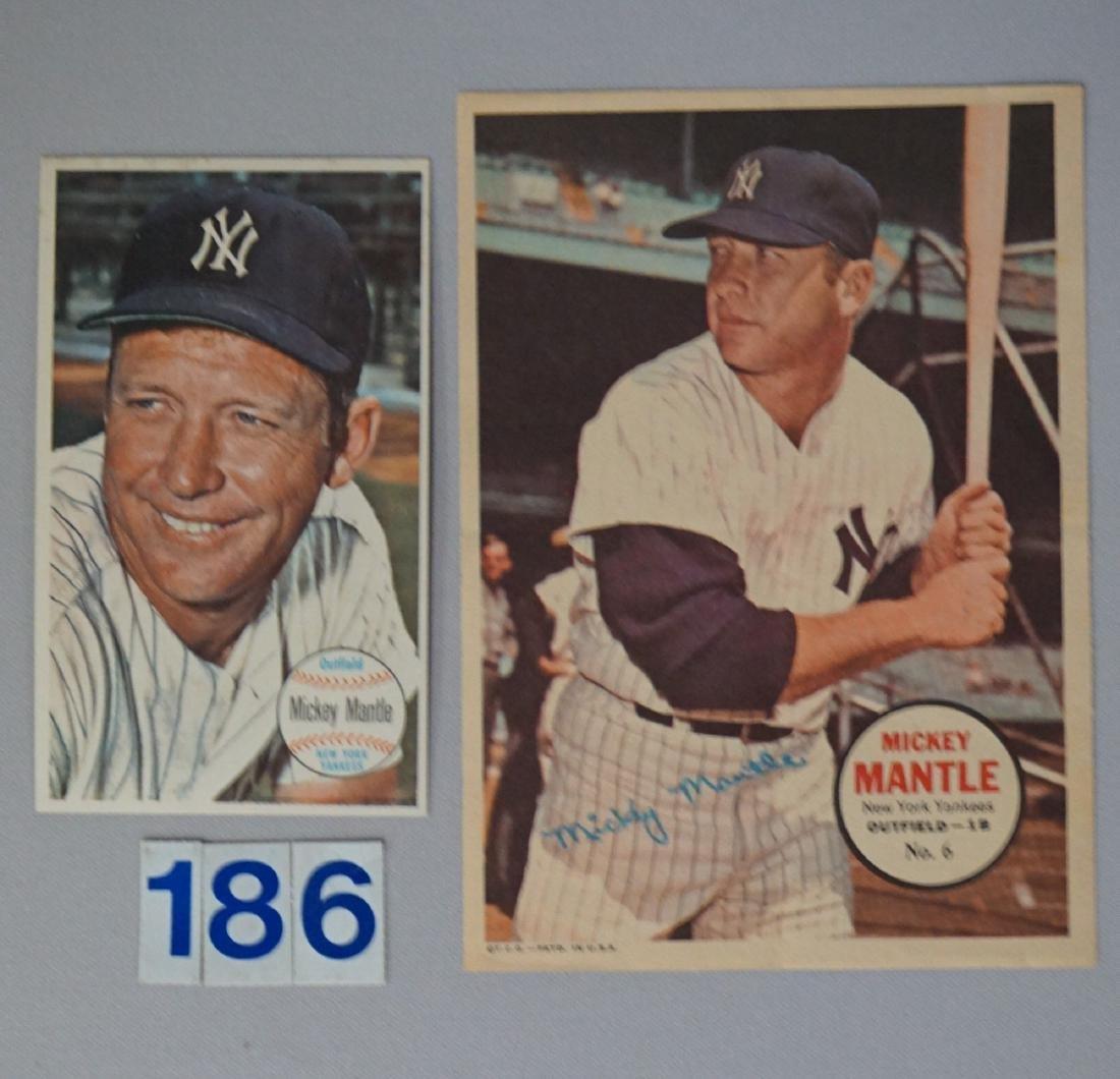 MICKEY MANTLE: 1964 TOPPS GIANTS #25