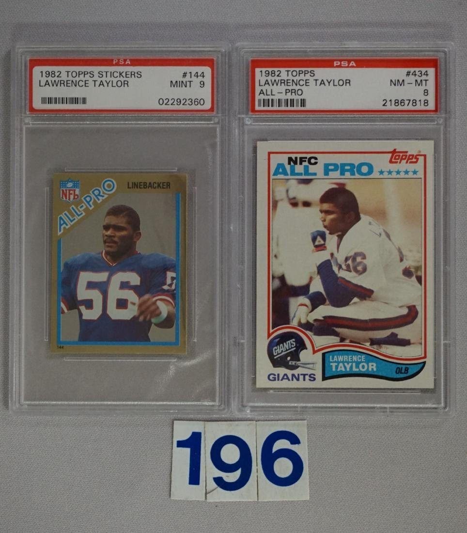 LAWRENCE TAYLOR LOT: