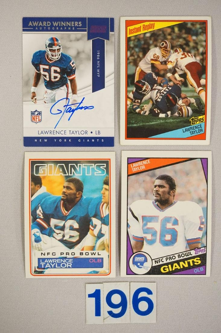 LAWRENCE TAYLOR LOT: - 3