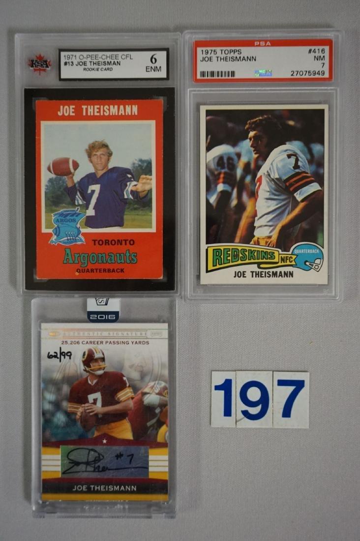 JOE THEISMANN: 1971 O-PEE-CHEE
