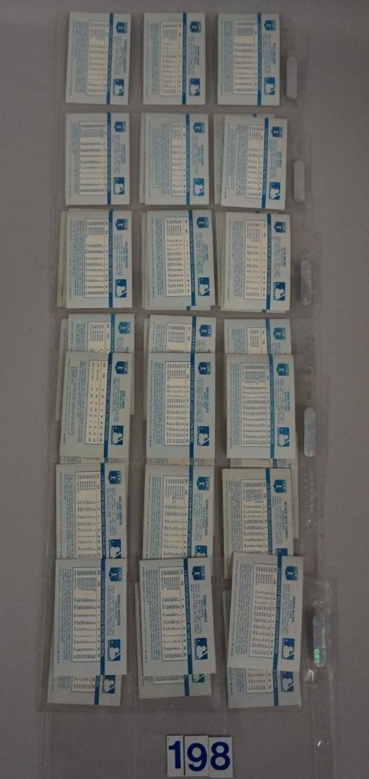 1970 KELLOGG'S BASEBALL 3-D CARD SET, - 9