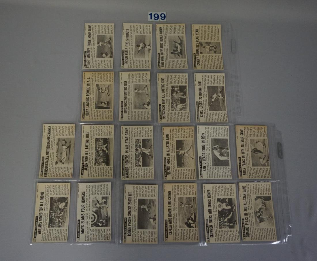 1964 TOPPS BASEBALL GIANTS SET, #1-60 - 10