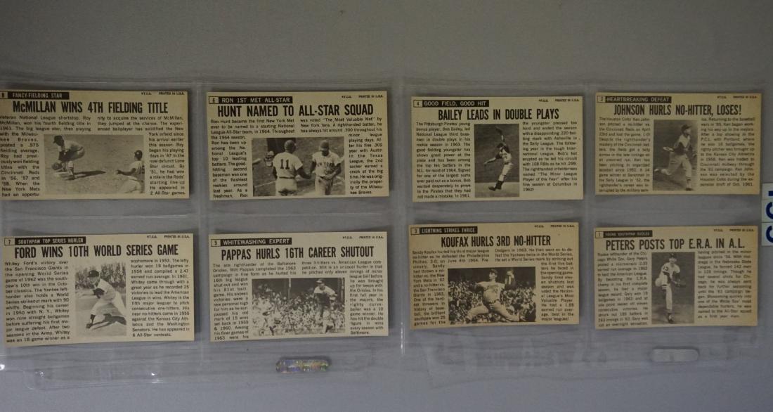 1964 TOPPS BASEBALL GIANTS SET, #1-60 - 2