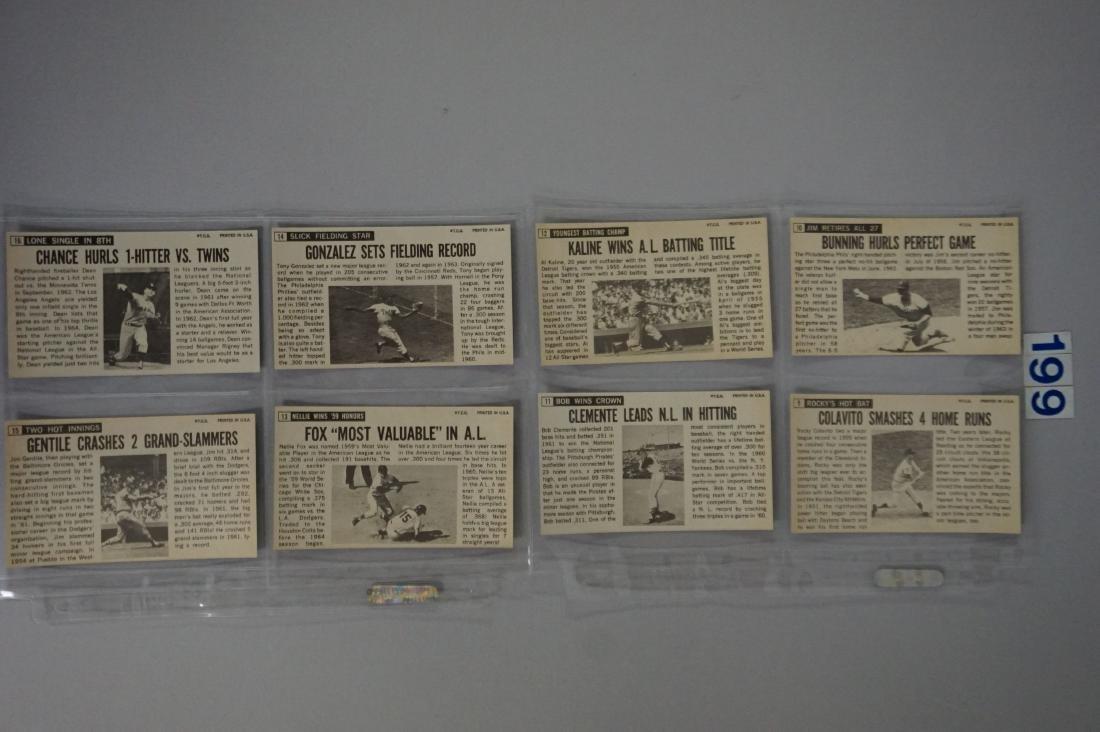 1964 TOPPS BASEBALL GIANTS SET, #1-60 - 4