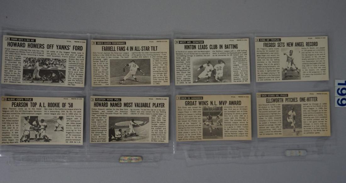 1964 TOPPS BASEBALL GIANTS SET, #1-60 - 6