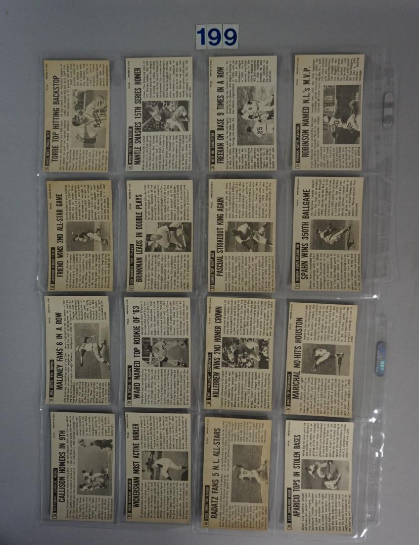 1964 TOPPS BASEBALL GIANTS SET, #1-60 - 8