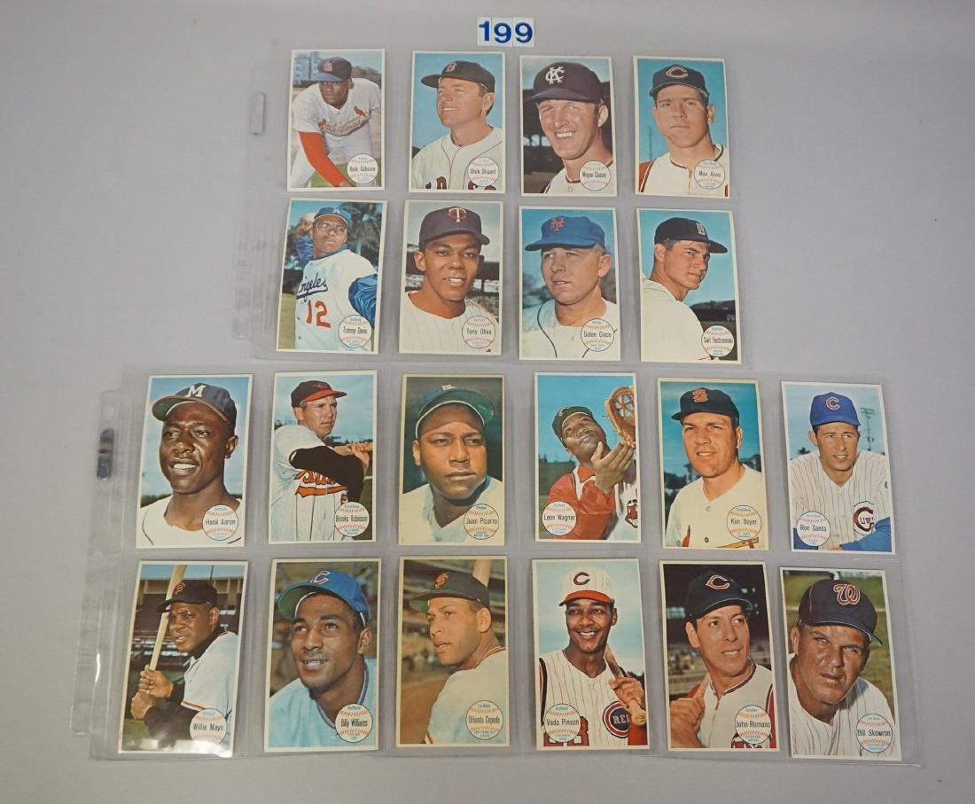 1964 TOPPS BASEBALL GIANTS SET, #1-60 - 9
