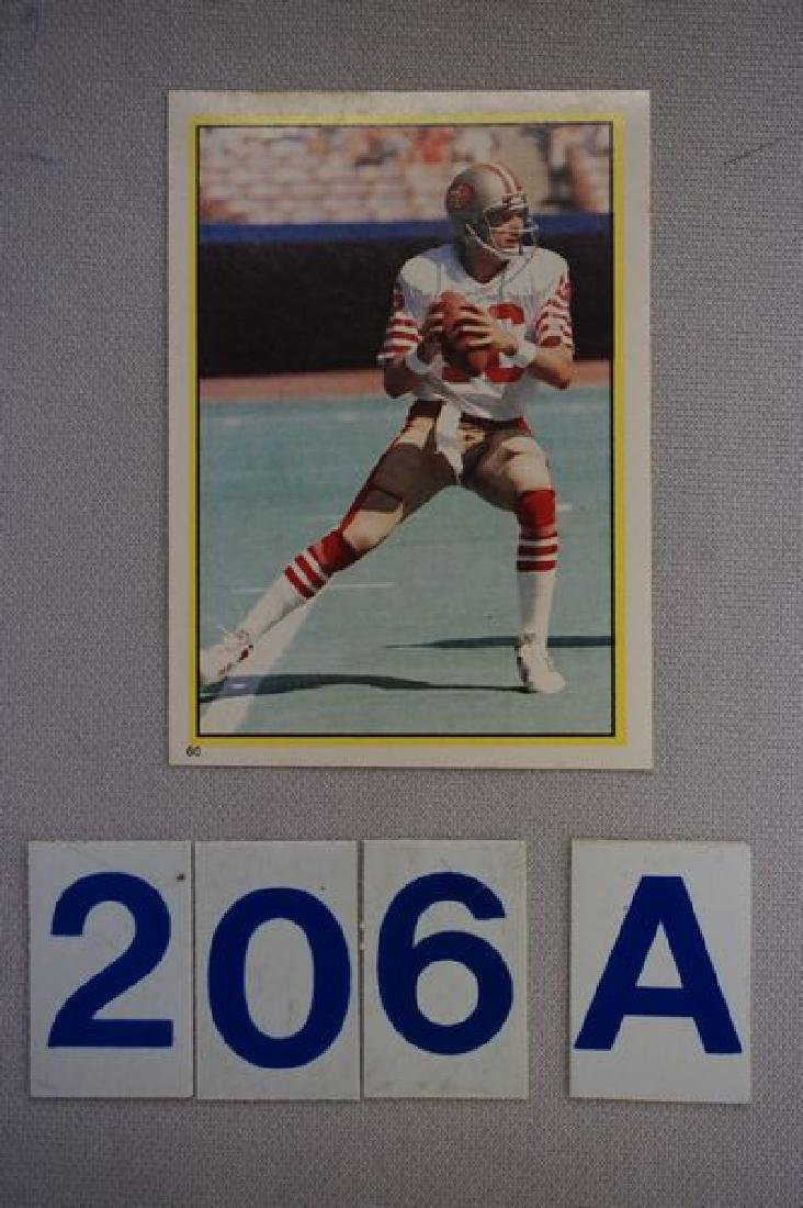 1984 TOPPS FOOTBALL STICKER SET - 7