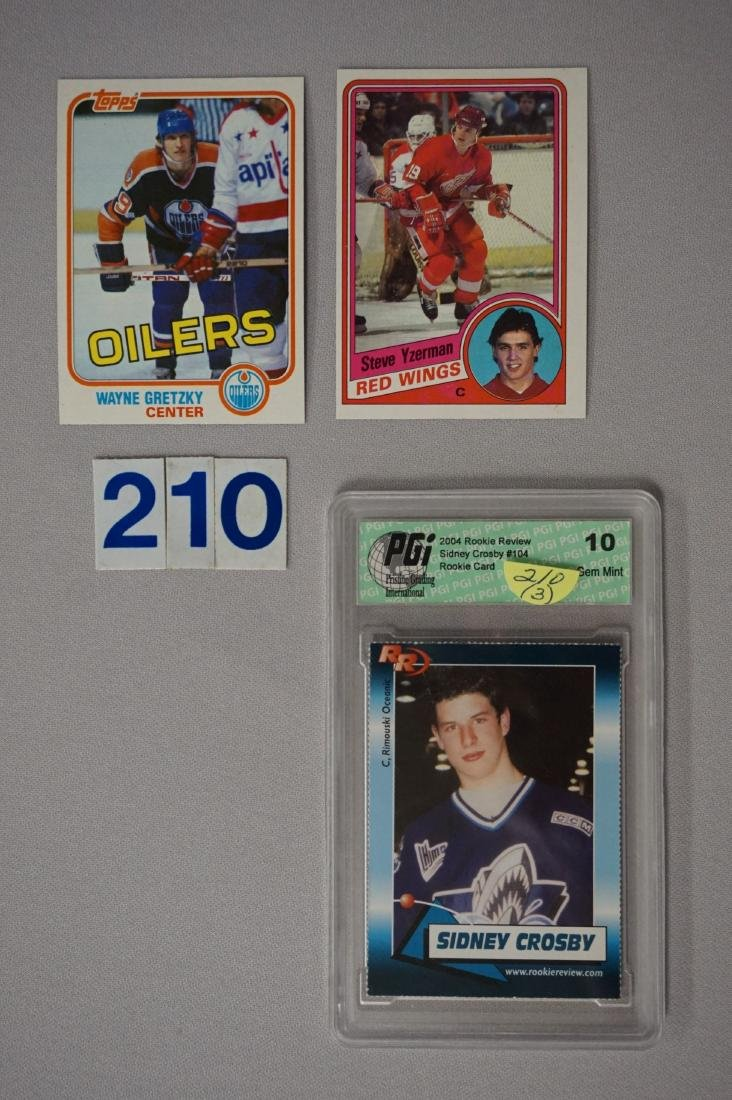 1981 - '82 TOPPS #16 WAYNE GRETZKY - N.MT
