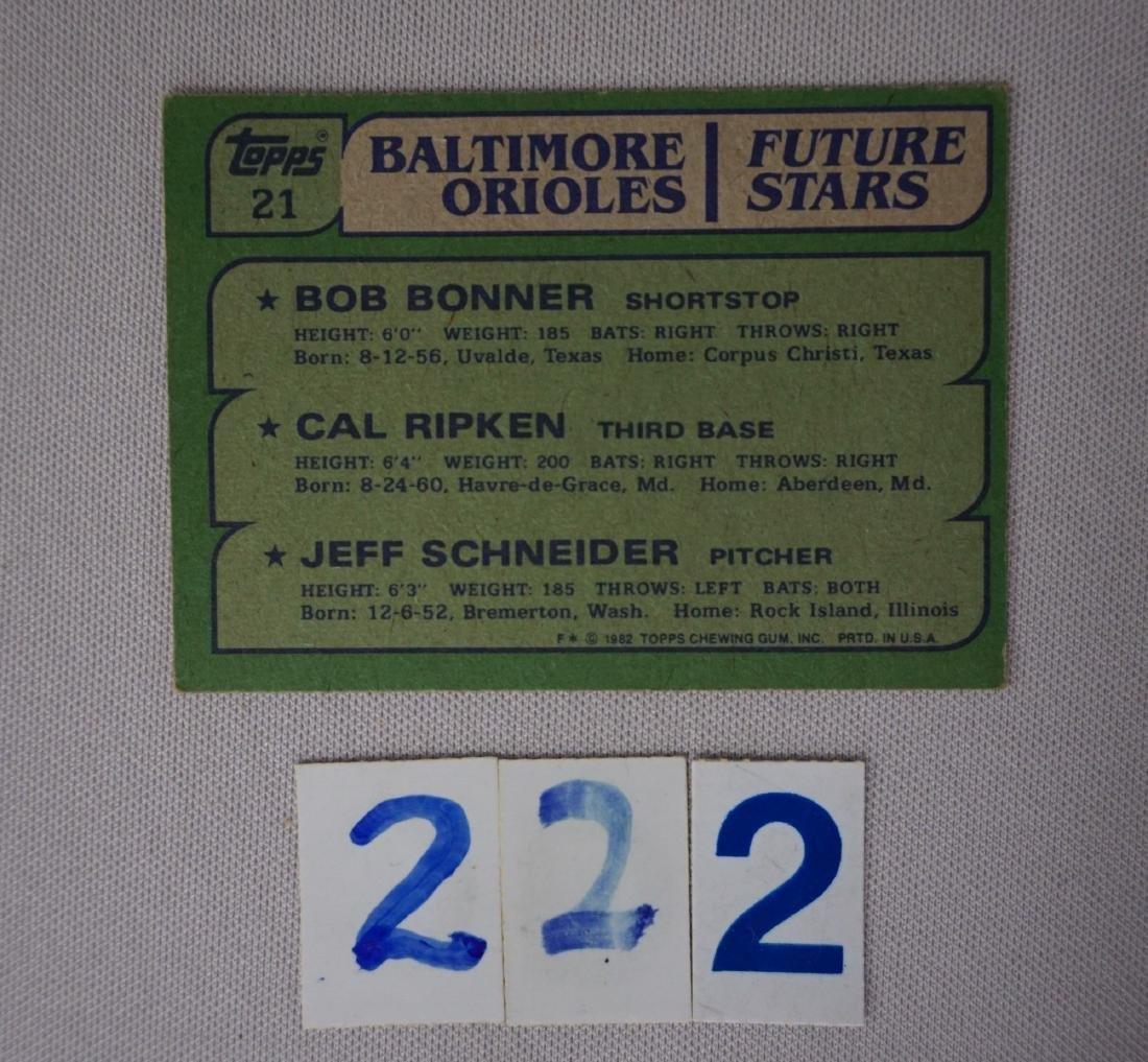 1981 & 1982 TOPPS BASEBALL CARD SETS - 6