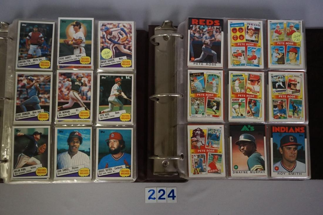 1985 & 1986 TOPPS BASEBALL CARD SETS