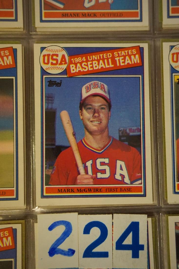 1985 & 1986 TOPPS BASEBALL CARD SETS - 3
