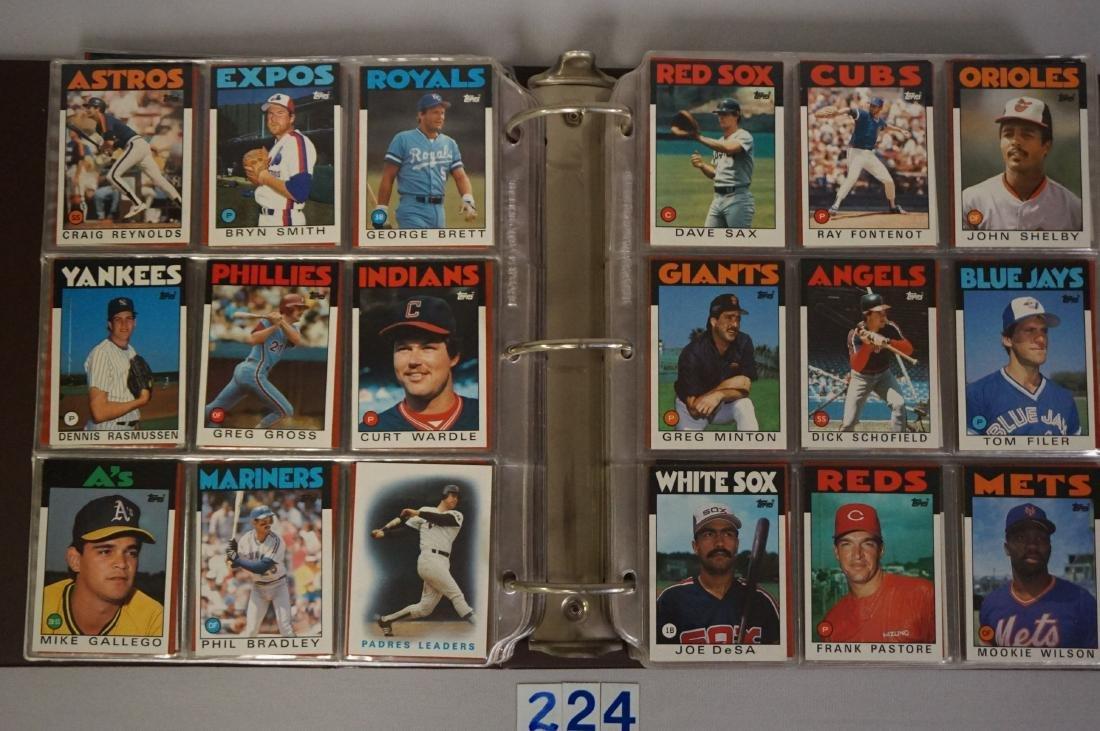 1985 & 1986 TOPPS BASEBALL CARD SETS - 6