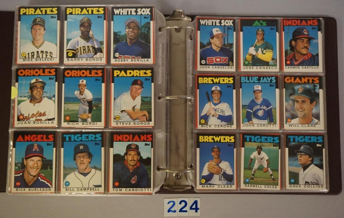 1985 & 1986 TOPPS BASEBALL CARD SETS - 7