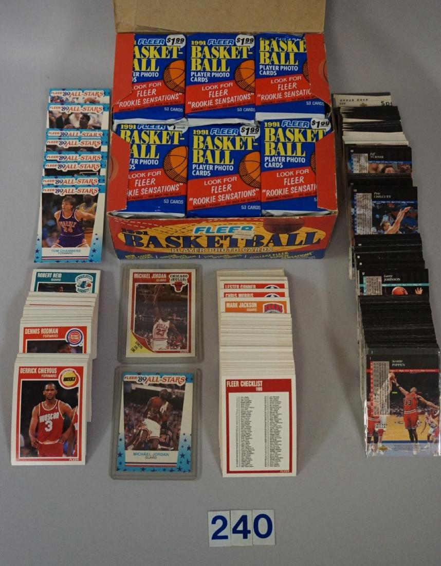 1989-'90 FLEER BASKETBALL CARD SET