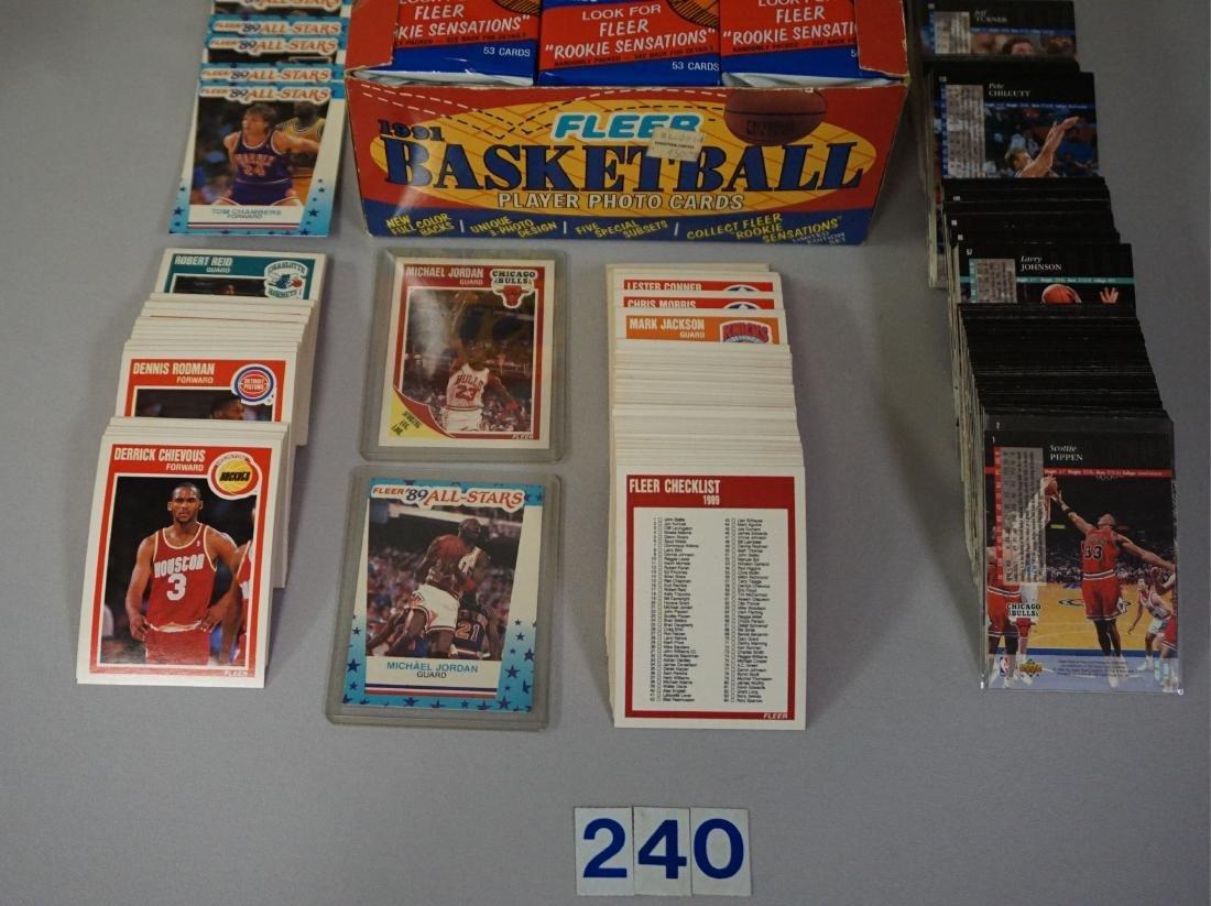 1989-'90 FLEER BASKETBALL CARD SET - 2